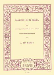 Fantaisie en Mib - Cornet Sib ou Trompette Ut ou Sib et Piano