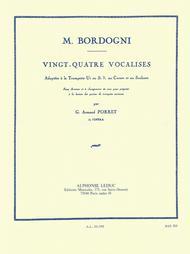 24 Vocalises - Trompette