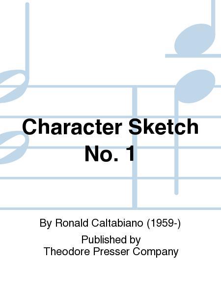 Character Sketch No. 1