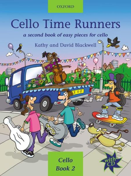 Cello Time Runners (with CD)