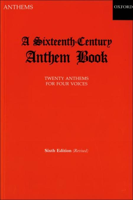 A Sixteenth-Century Anthem Book