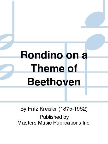 Rondino on a Theme of Beethoven