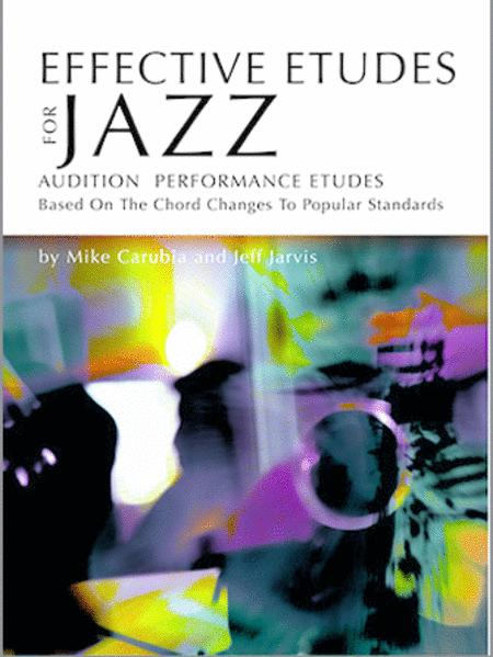 Effective Etudes For Jazz - Trombone - Book with CD