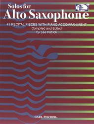 Solos For Alto Saxophone