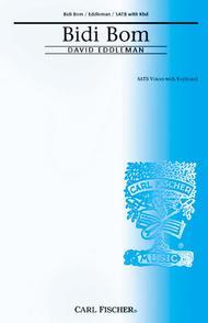 Bidi Bom By David Eddleman Piano Reduction Vocal Score Sheet Music For Satb Choir Keyboard Buy Print Music Cf Cm8799 From Carl Fischer Music At Sheet Music Plus
