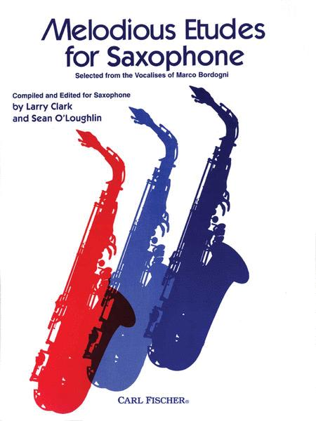 Melodious Etudes For Saxophone