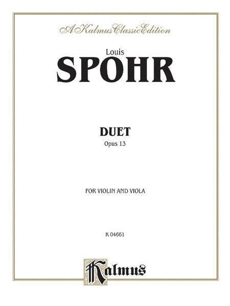 Duet, Op. 13