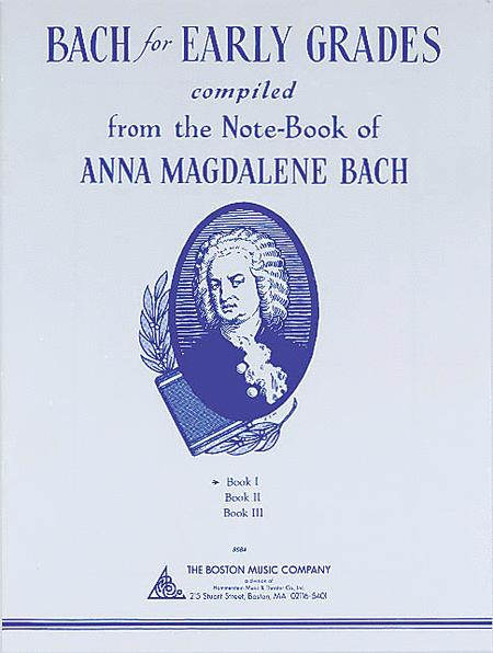 Bach for Early Grades - Book 1