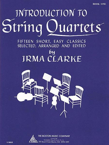 Intro to String Quartets Book 1