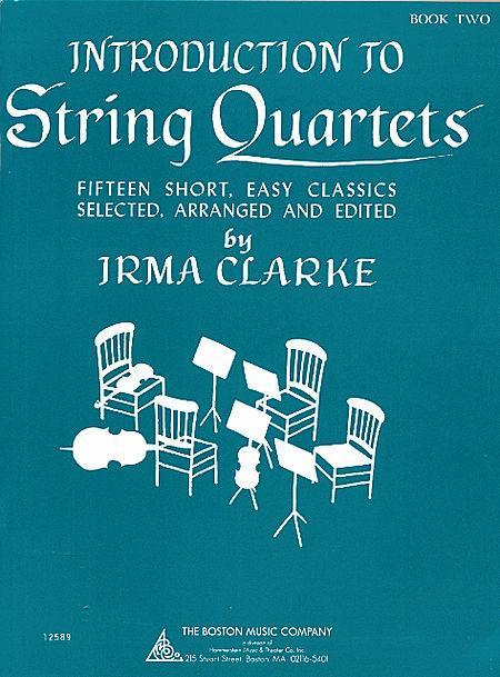 Intro to String Quartets Book 2