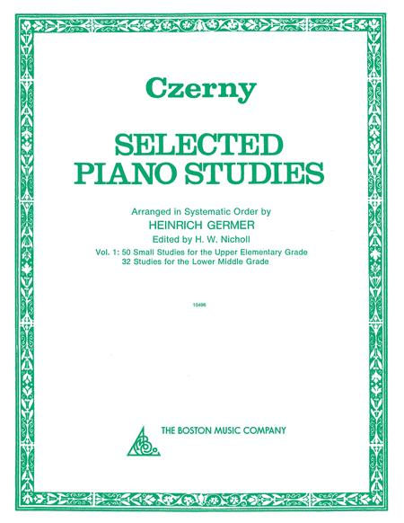 Selected Piano Studies - Volume 1