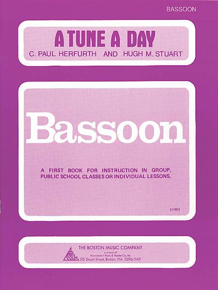 A Tune a Day - Bassoon