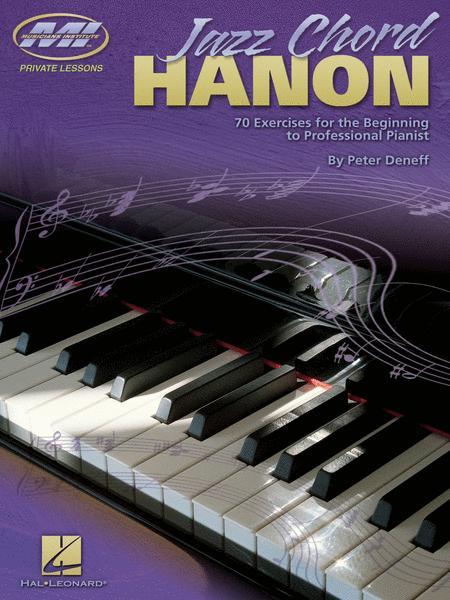 Jazz Chord Hanon Sheet Music By Peter Deneff - Sheet Music Plus