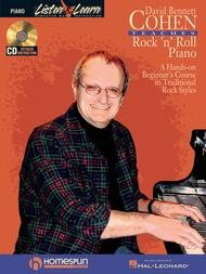 David Bennett Cohen Teaches Rock'n'Roll Piano
