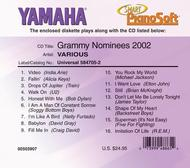 Grammy Nominees 2002 - Piano Software