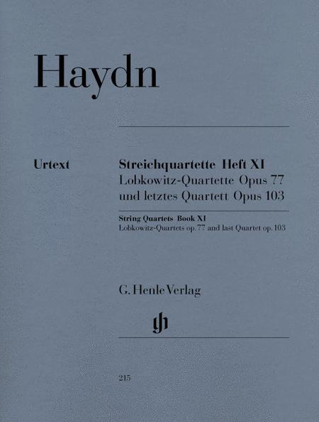 String Quartets - Volume XI Op. 77 and Op. 103