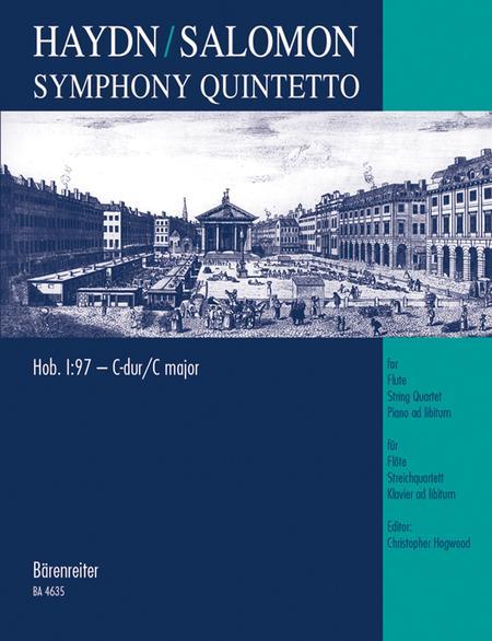 Symphony Quintetto C major Hob. I:97