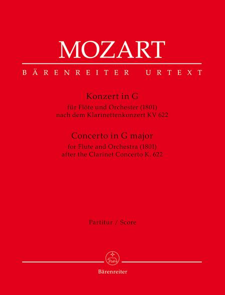 Concerto for Flute and Orchestra G major