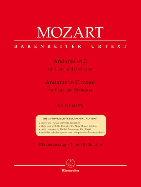 Andante for Flute and Orchestra C major, KV 315 (285e)