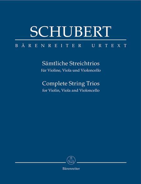Samtliche Streichtrios for Violin, Viola and Violoncello