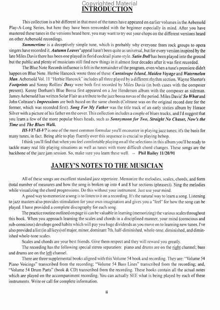Volume 54 - Maiden Voyage sheet music