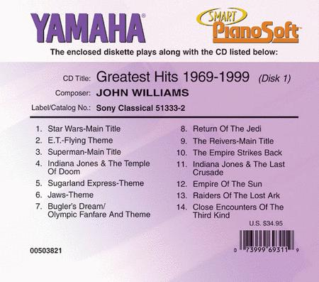 John Williams Greatest Hits: 1969-1999 (2-Disk Set) - Piano Software