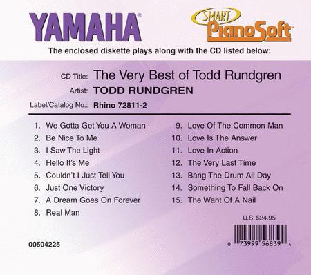 The Very Best of Todd Rundgren - Piano Software