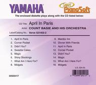Count Basie and His Orchestra - April in Paris - Piano Software
