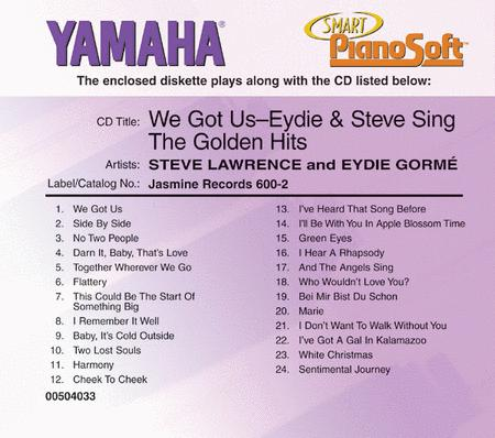 We Got Us - Eydie & Steve Sing the Golden Hits - Piano Software
