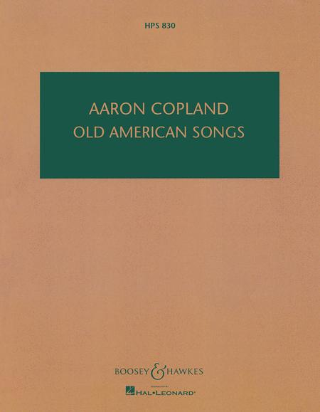 Old American Songs
