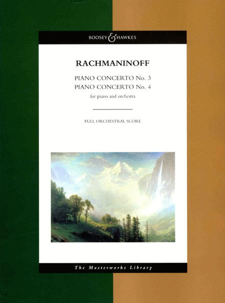 Piano Concerto No. 3 and Piano Concerto No. 4