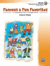 Famous & Fun Favorites - Book 3