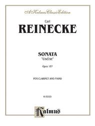 Sonata for Clarinet and Piano, Op. 167