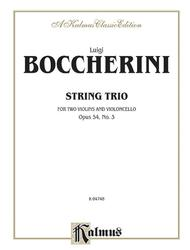 String Trio, Op. 54, No. 3