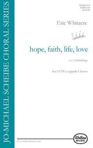 hope, faith, life, love...