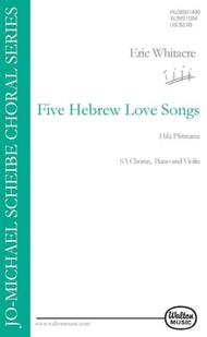 Five Hebrew Love Songs (SA)