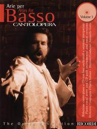 Cantolopera: Arias for Bass - Volume 3