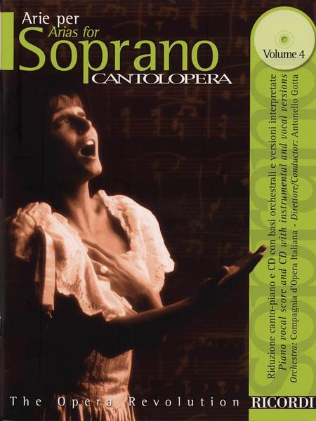 Cantolopera: Arias for Soprano - Volume 4