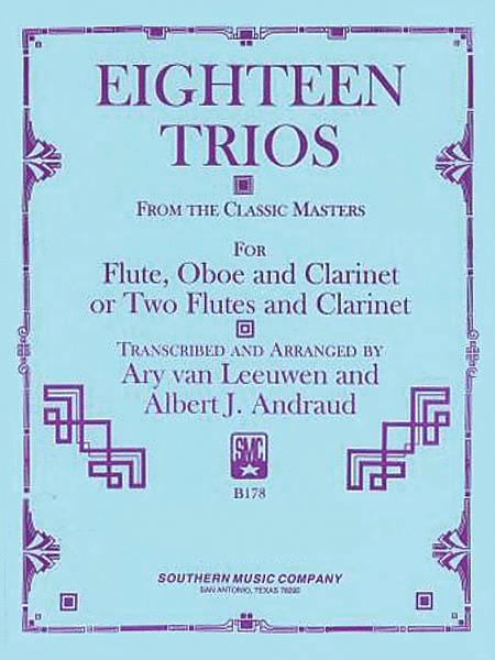 18 Trios (Complete) from Classic Master