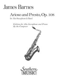 Arioso and Presto, Op. 108