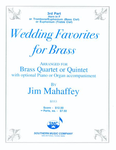 Wedding Favorites for Brass