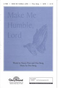 Make Me Humble, Lord