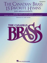 The Canadian Brass - 15 Favorite Hymns - Trombone 1