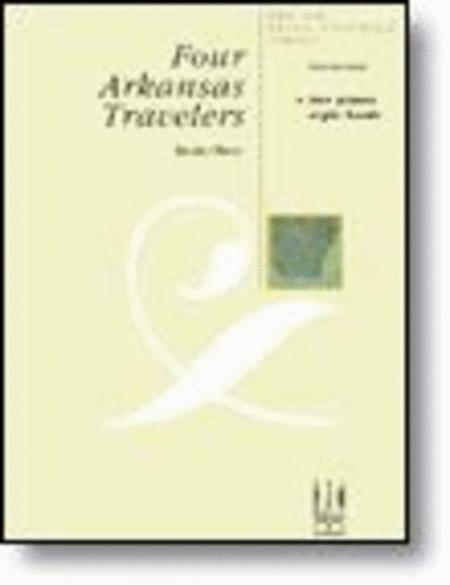 Four Arkansas Travelers (2 piano - 8 hand)