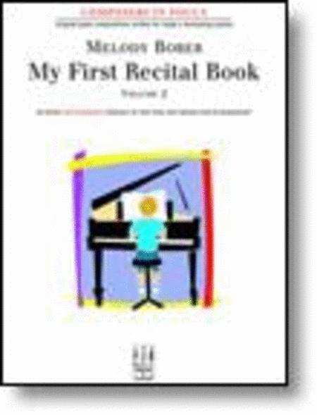 My First Recital Book, Volume 2
