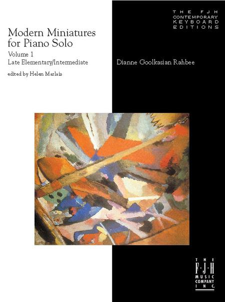 Modern Miniatures for Piano Solo, Volume 1