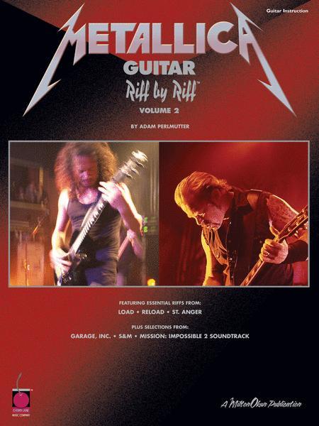 Metallica Guitar Riff by Riff, Volume 2