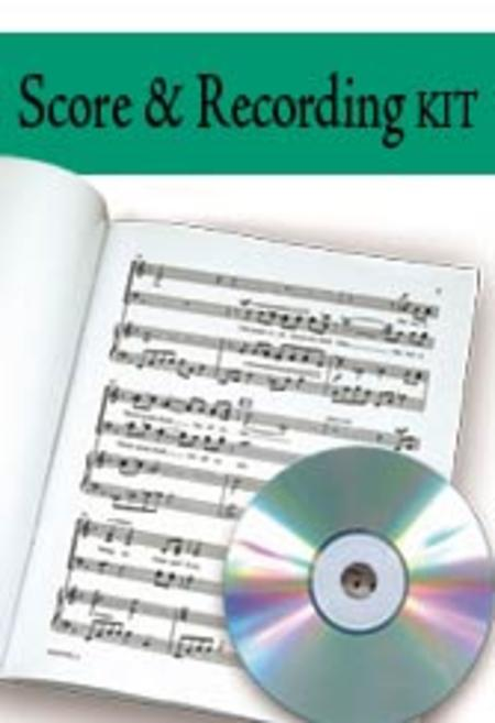 The Seven Last Words of Christ - Performance CD/SATB Score Comb