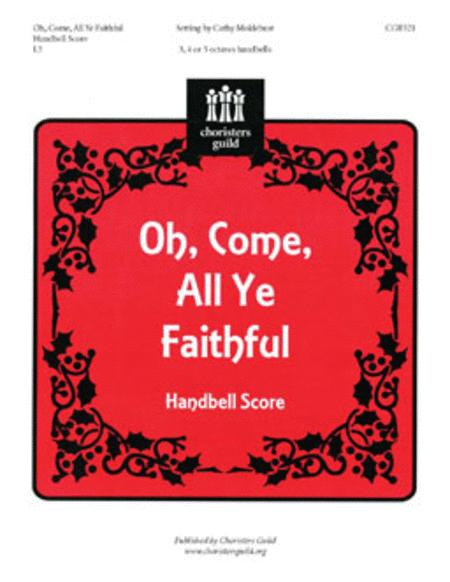 Oh, Come, All Ye Faithful - Handbell Score