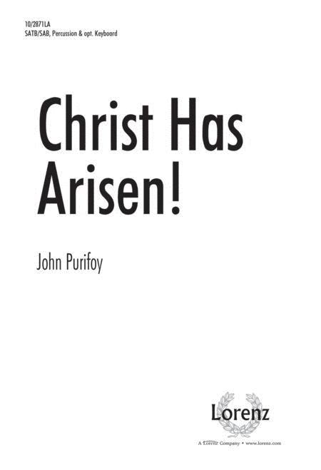Christ Has Arisen